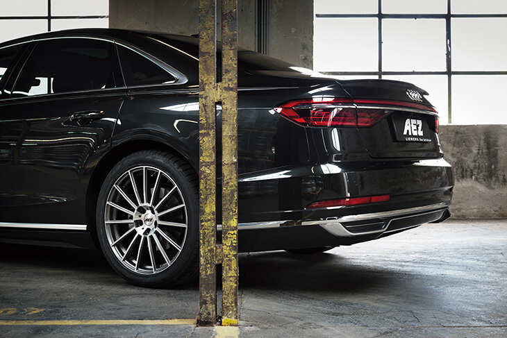 Audi A8 back on AEZ Steam