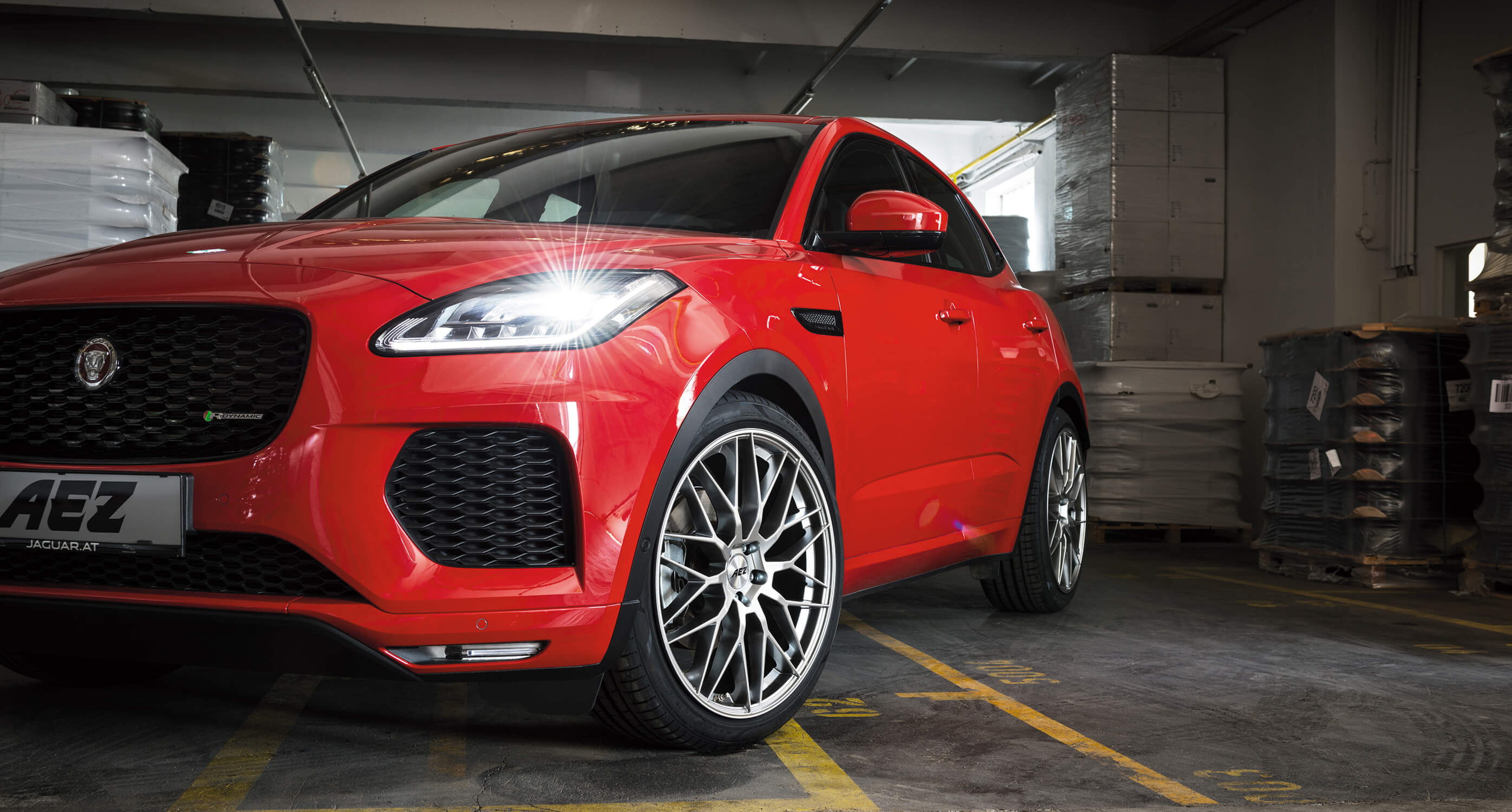 The new Jaguar E-Pace on AEZ Crest