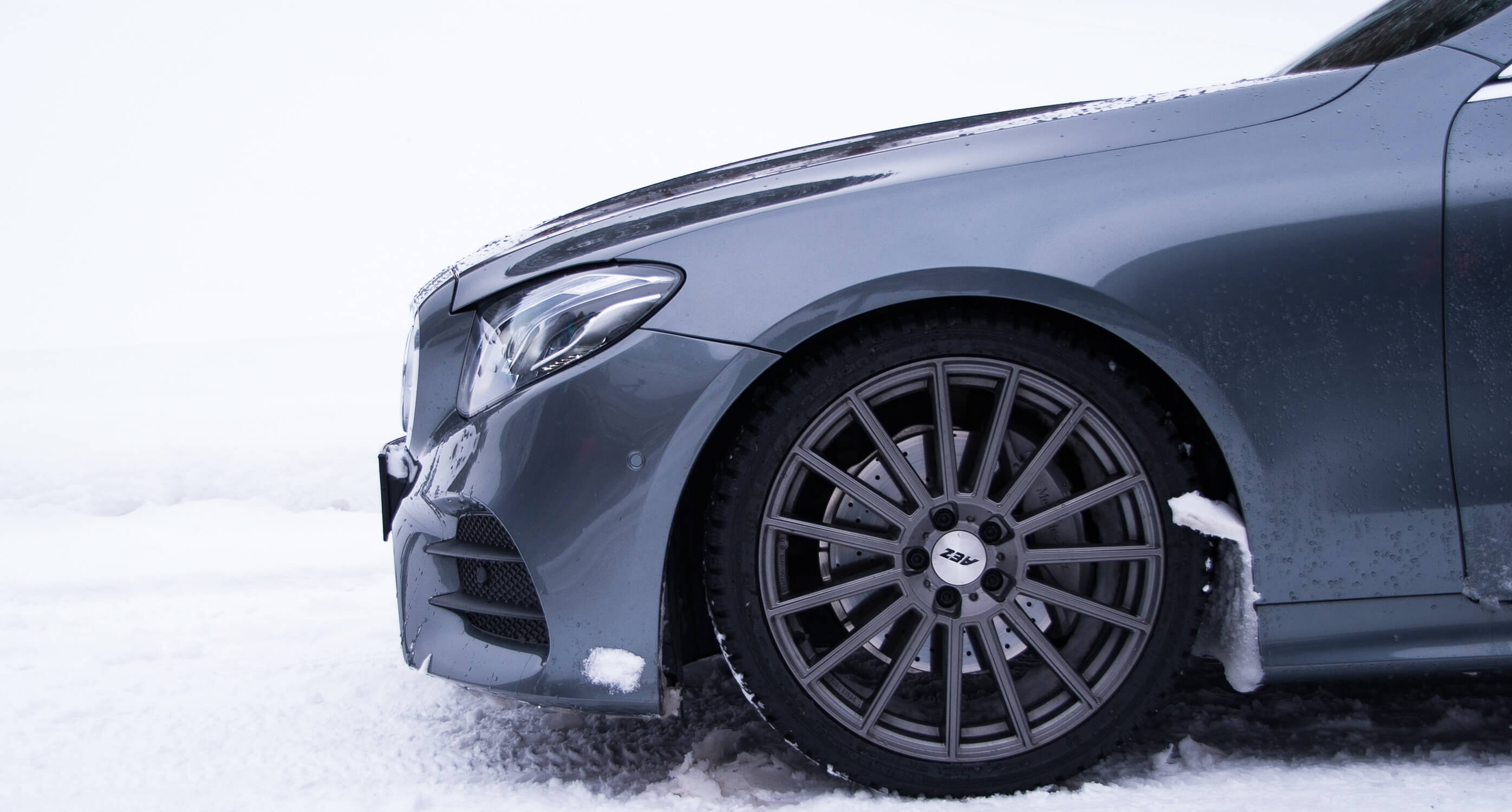 AEZ Wintervideo - Mercedes E-Class - Wheel Detail