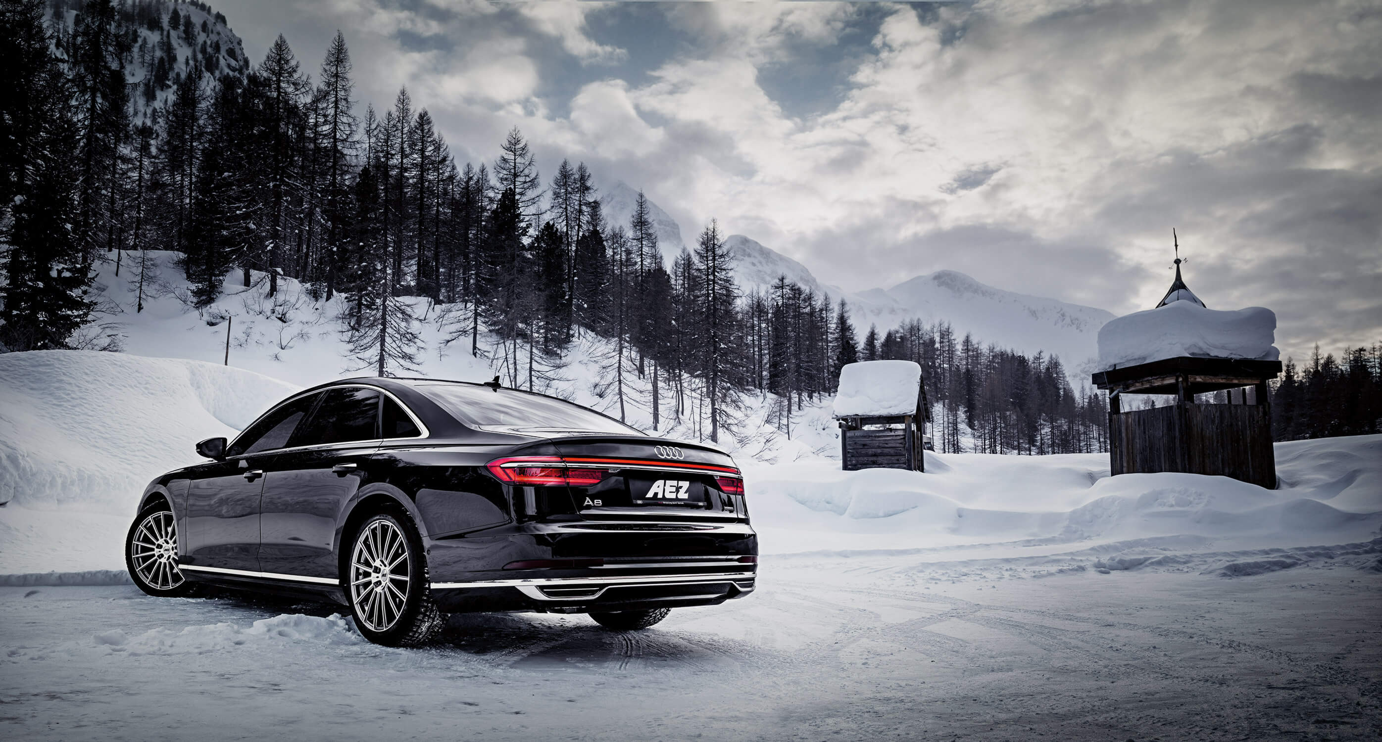 AEZ Steam on the new Audi A8
