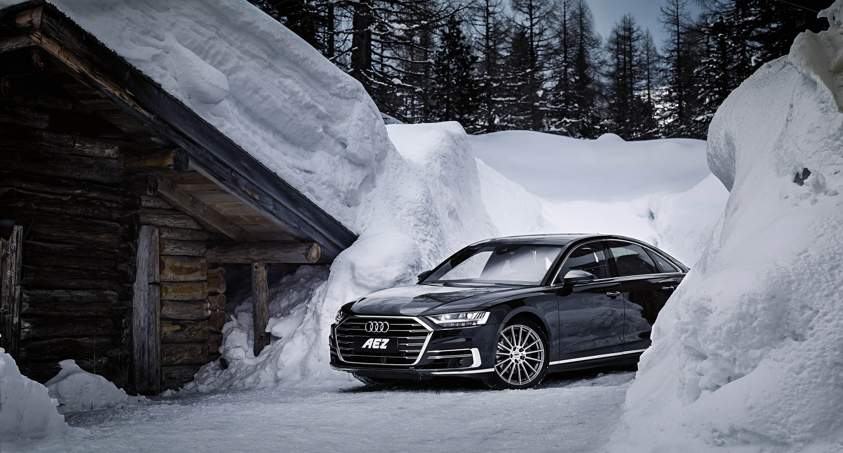 The new AEZ Steam on Audi A8
