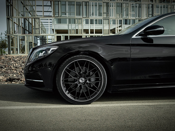 AEZ Crest rim on Mercedes S-class