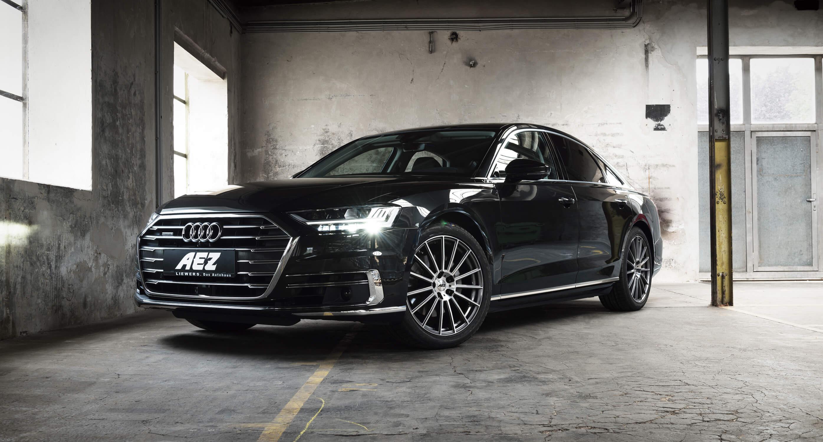 The New Audi A8 On Aez Steam Aez News