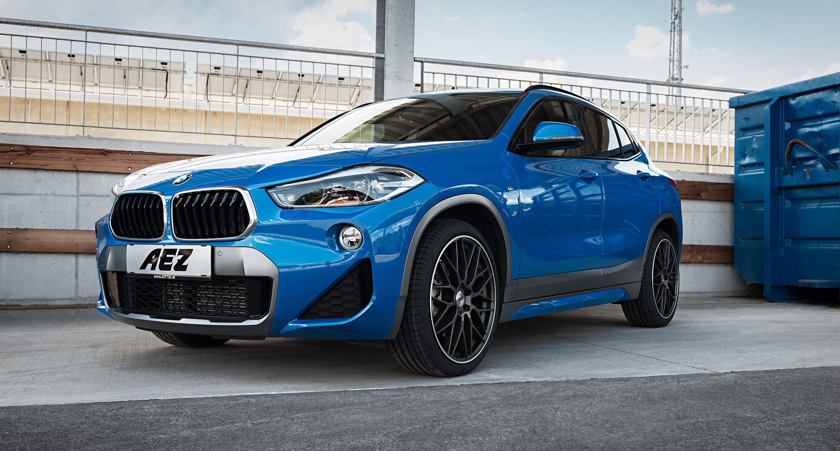 The new BMW X2 on AEZ Crest dark